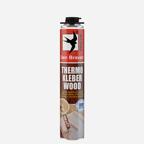 DEN BRAVEN Thermo kleber WOOD 750ml
