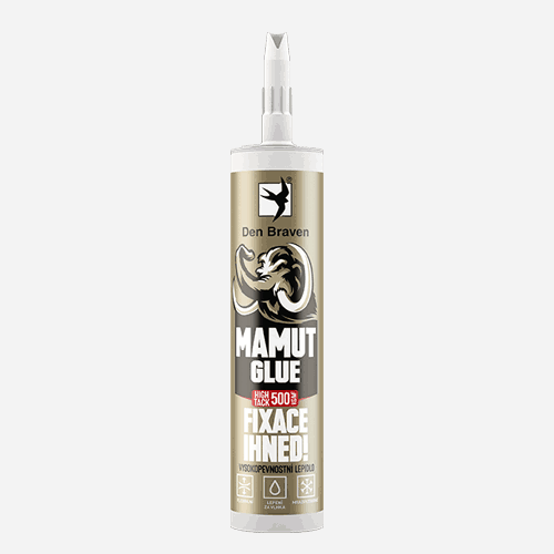 DEN BRAVEN Mamut Glue High Tack 290 ml bílý